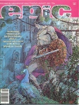 marvel epic illustrated cover aug 1981