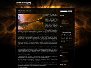 inferno theme screenshot