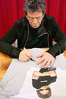 lou reed t shirt autograph session