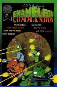 cold blooded chameleon commandos #1