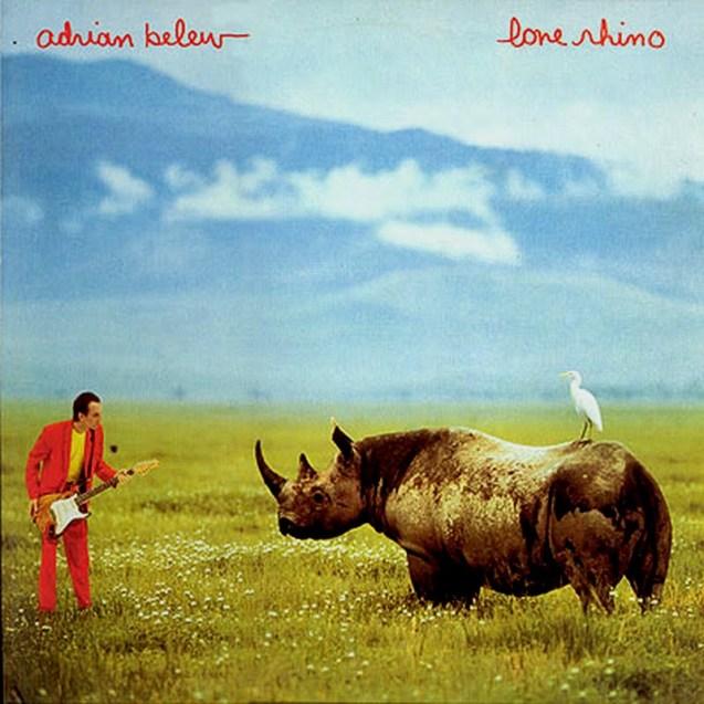 Adrian Belew Lone Rhino Album Cover