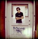 Lou Reed Supreme T Shirt-Street Art-3-AKA photo