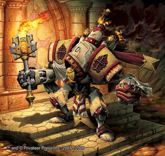 [Steampunk] Soldats Steampunk 19-templar-warmachine-digital-painting-privateer-press