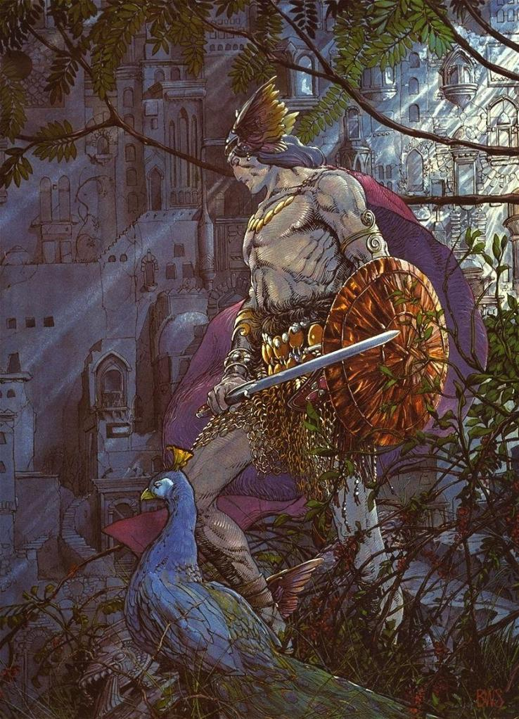 The Last Atlantean - Barry Windsor Smith