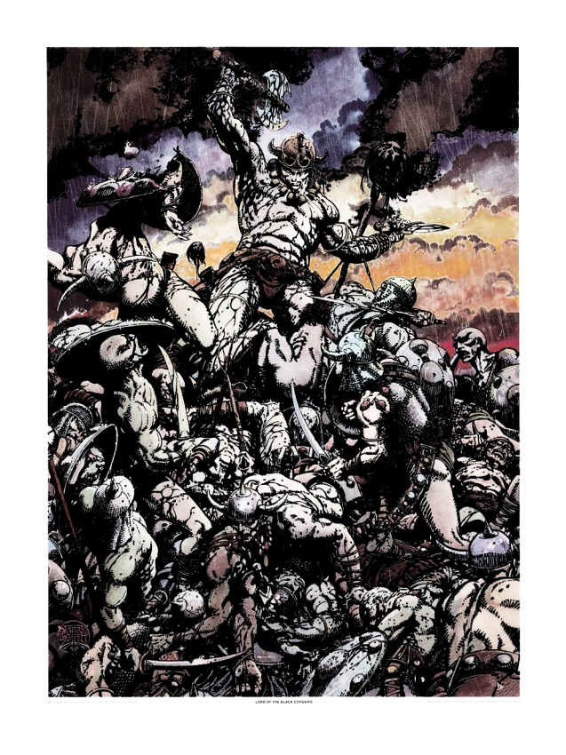 The Lord of the Black Corsairs - Color - Barry Windsor Smith