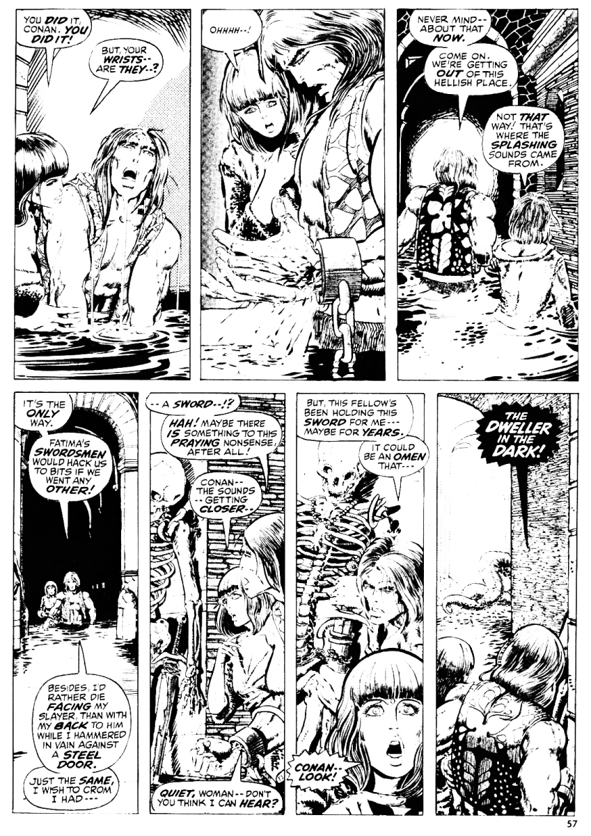 Dweller in the Dark 9 - Barry Windsor Smith