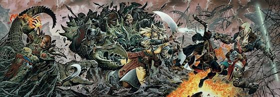 Battle Scene-Wayne Reynolds