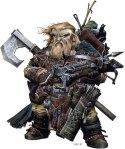 Harsk-Dwarf Iconic-Wayne Reynolds