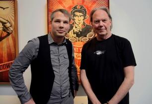 Niel Young & Shepard Fairey 2012