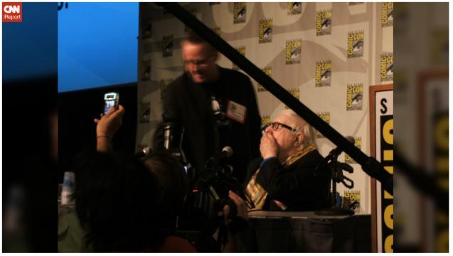Ray Bradbury-San Diego Comic Con 2010