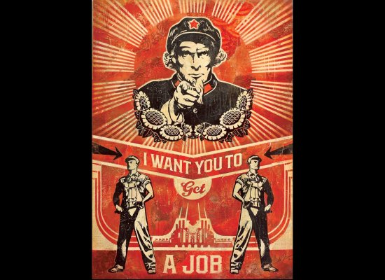 Get a Job-Shepard Fairey