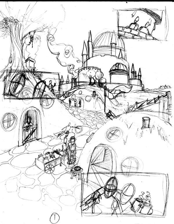 Leprechaun Process art_11 Cris Carter
