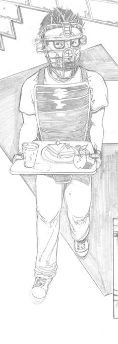 Leprechaun Process art_6 Cris Carter