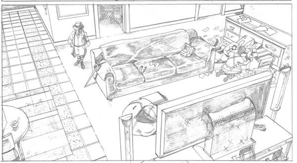 Leprechaun Process art_7 Cris Carter