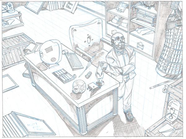 Leprechaun Process art_8 Cris Carter