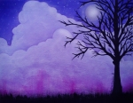 Purple Clouds - Heather Clausen