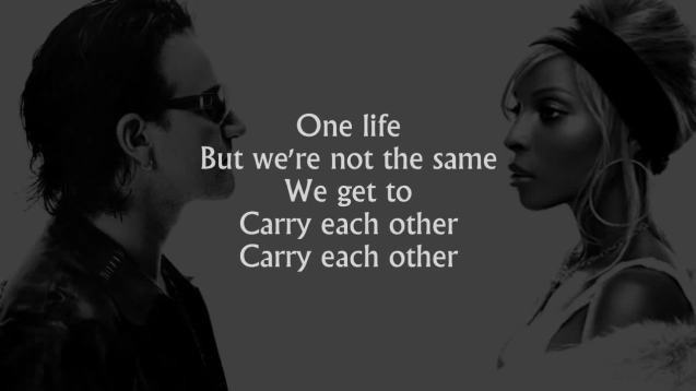 Bono and Blige - One