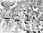 Jack Kirby B&W-19