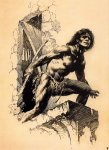 Frank Frazetta-Drawing-22