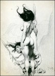 Frank Frazetta-Drawing-13