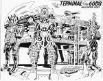 Jack Kirby B&W-20