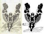 Jack Kirby-Black Bolt Inked