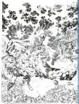 Jack Kirby B&W-7