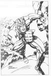 Jack Kirby B&W-5