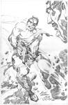 Jack Kirby B&W-3