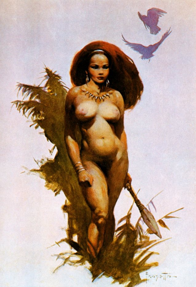 Frank Frazetta-Drawing-8