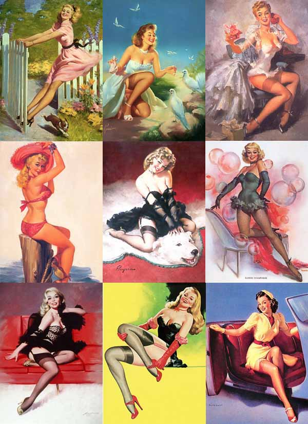 Pin-Up-Girls-Art